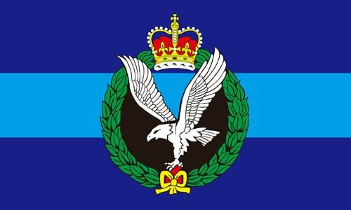 Army Air Corps 1.52m x 0.91m (5ftx 3ft) Budget Display Flag