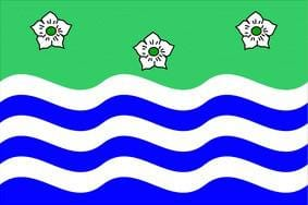 Cumberland 5ft x 3ft County Flag
