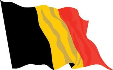 Belgium Budget Display Flag 91cm x 60cm (3ft x 2ft)