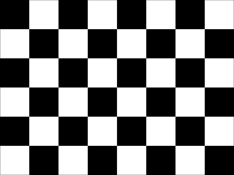 Checkered Budget Display Flag 91cm x 60cm (3ft x 2ft)