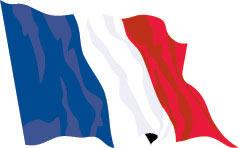 France 91cm x 60cm (3ftx 2ft) Budget Display Flag