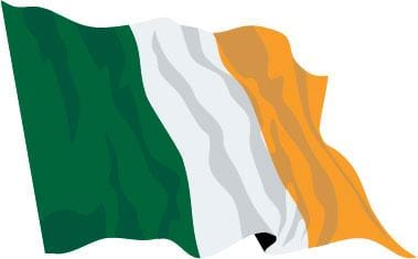 Ireland Budget Display Flag 91cm x 60cm (3ft x 2ft)