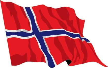 Norway Budget Display Flag 91cm x 60cm (3ft x 2ft)