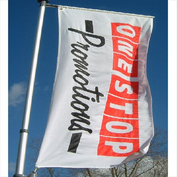 CUSTOM Digitally Printed Flag used with the 4.5m Car Flagpole