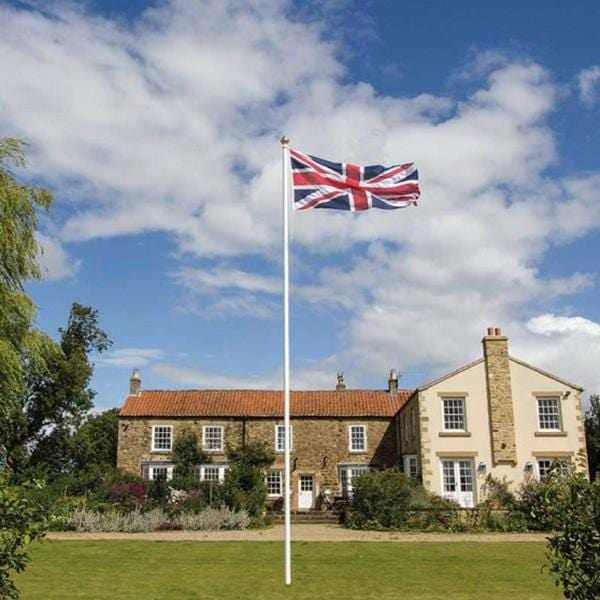 6m Tapered Garden Flagpole