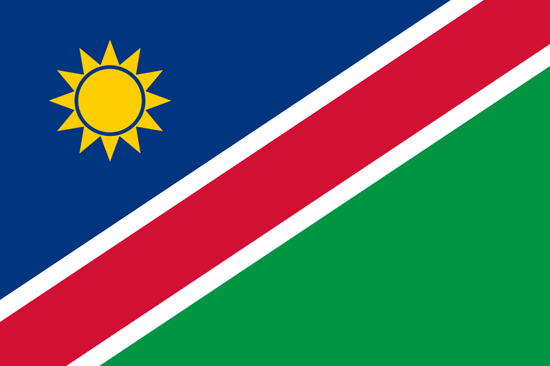 Namibia flags