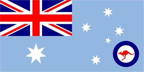 Royal Australian Air Force 1.52m x 0.91m (5ftx 3ft) Budget Display Flag