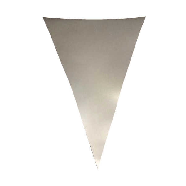 Silver PVC Bunting