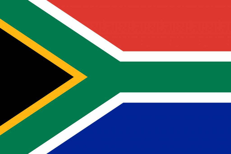 South Africa Table Flag