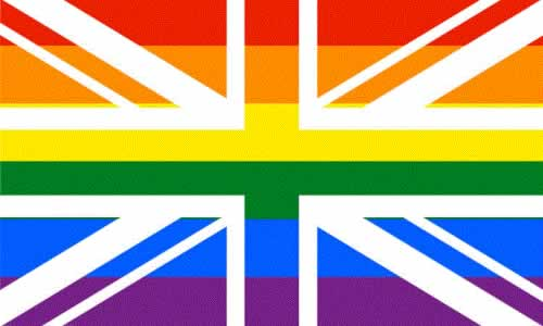 Rainbow Union Jack (Gay Pride) 5′ x 3′