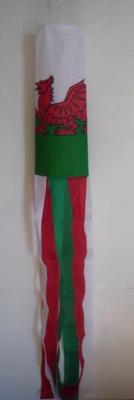 Welsh Dragon/Wales Flag Windsock