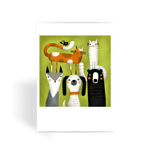 Extended Family Portrait - Greeting Card