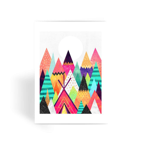 Land of Colour - Greeting Card