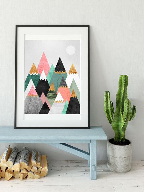 Pretty Mountains - Poster