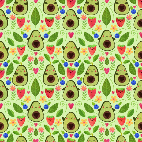 Happy Avocados - Square Pillow Case