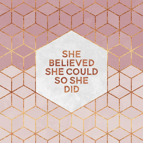 She Believed She Could - Poster