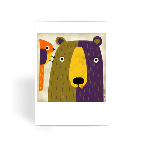 Wake Up Call - Greeting Card