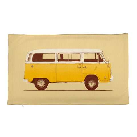 Yellow Van - Rectangular Pillow Case