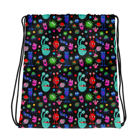 Monster Im All - Drawstring bag
