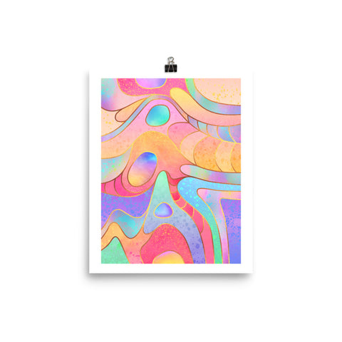 Candy Rainbow - Poster