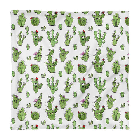 Cactus People - Square Pillow Case