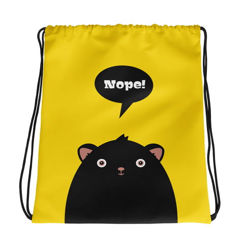 Nope Monster - Drawstring Bag