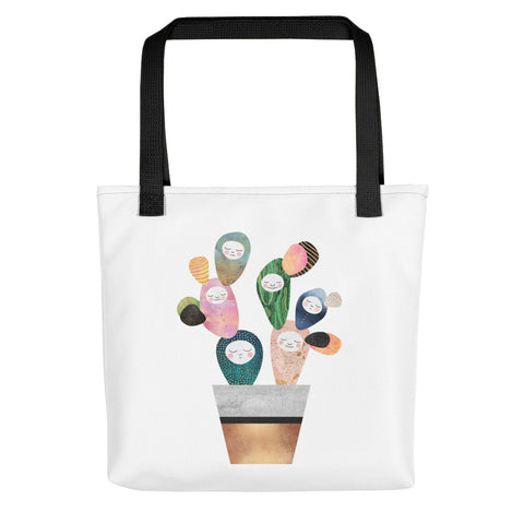 Sleepy Cactus - Tote Bag