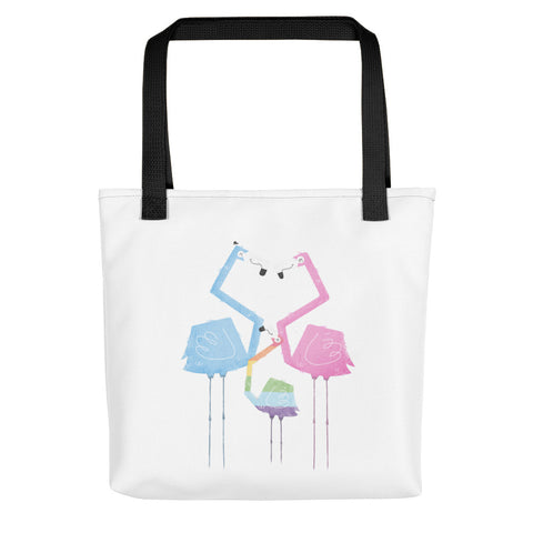 A Fabulous Family of Flamingos - Tote Bag