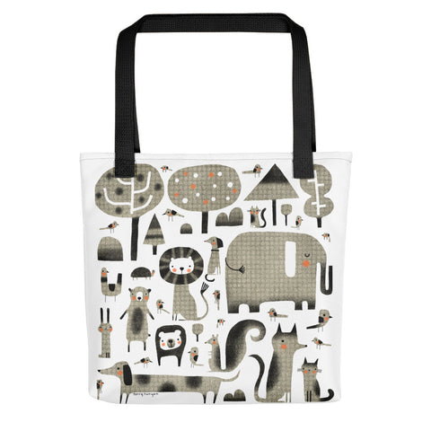 Animal Assortment - Tote bag