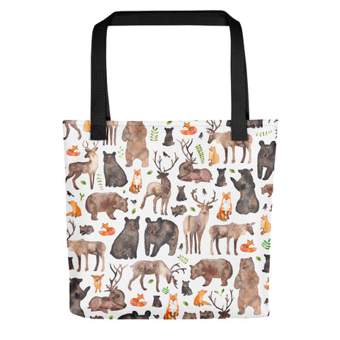 Forest Animals - Tote Bag