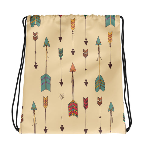 Arrows - Drawstring Bag