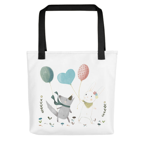 Let's Play Together - Tote Bag