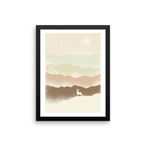 Quietude II - Framed Poster