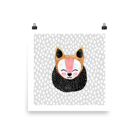 Little Arctic Fox - Poster