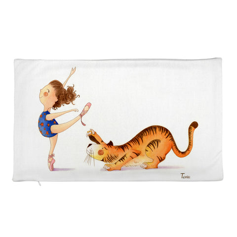 Ballerina - Rectangular Pillow Case