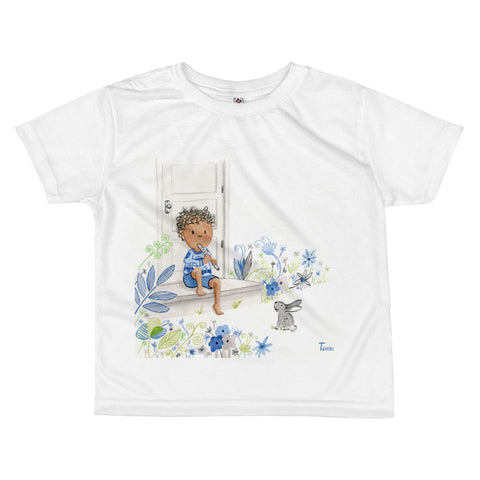 Boy and Bunny - Kids Tee