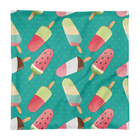 Ice-creams - Square Pillow Case