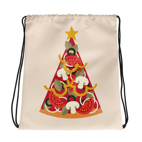Pizza On Earth - Drawstring Bag