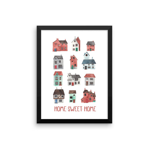 Home Sweet Home - Framed Poster