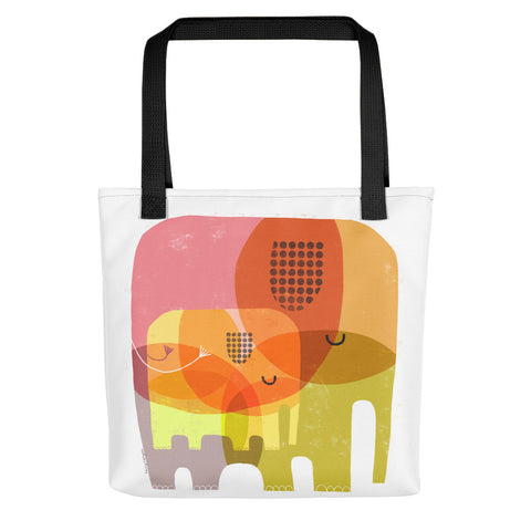 Elephant Love - Tote bag
