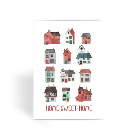 Home Sweet Home - Greeting Card