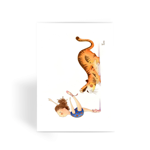 Ballerina - Greeting Card