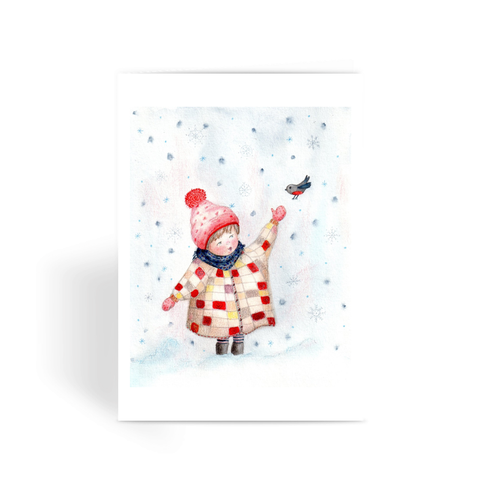 Winter Day - Greeting Card