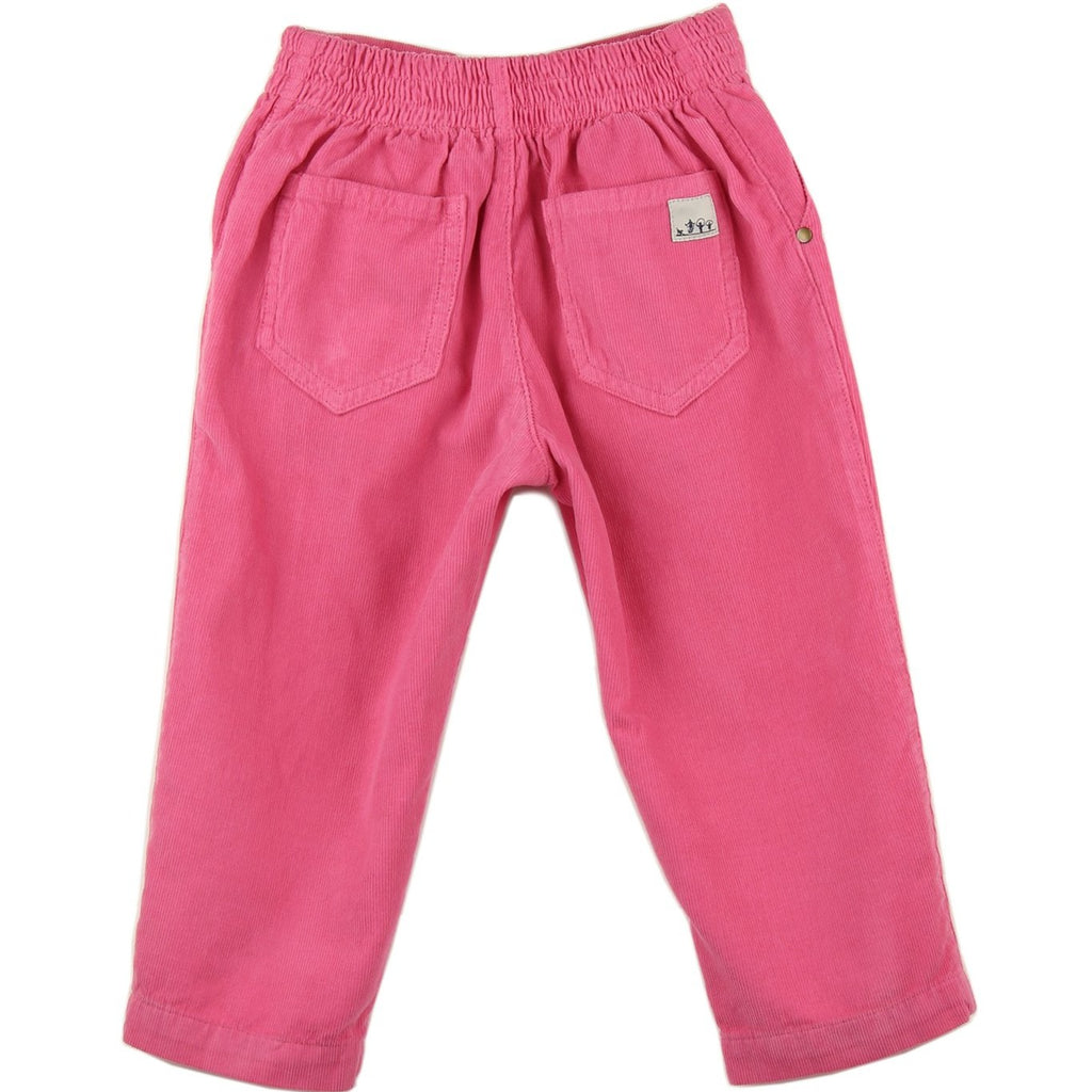 Corduroy Trousers | Pink