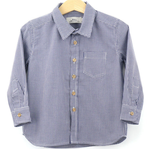 Boy´s shirt | Navy Vichy