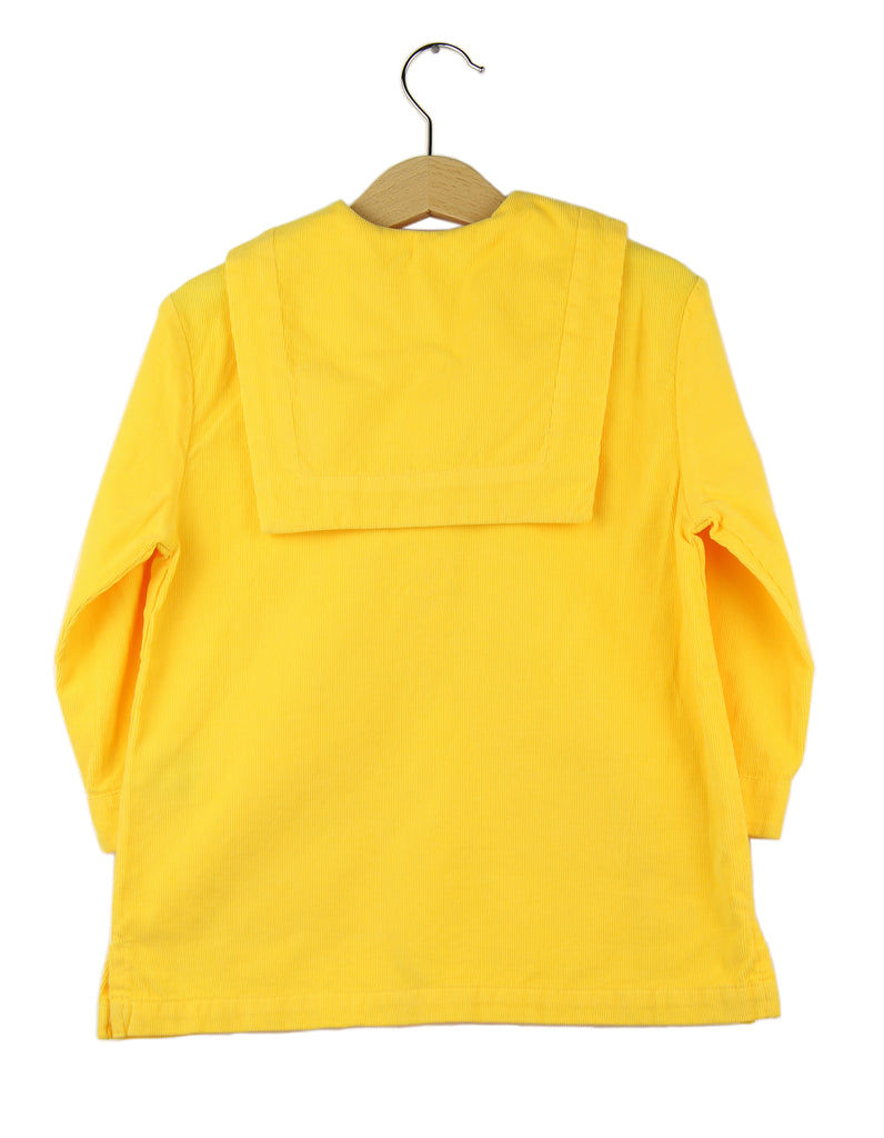 Corduroy dress | Yellow