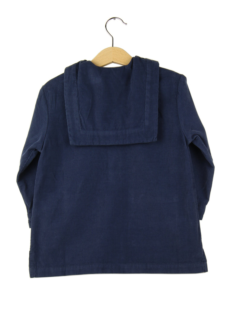 Corduroy dress | Navy Blue