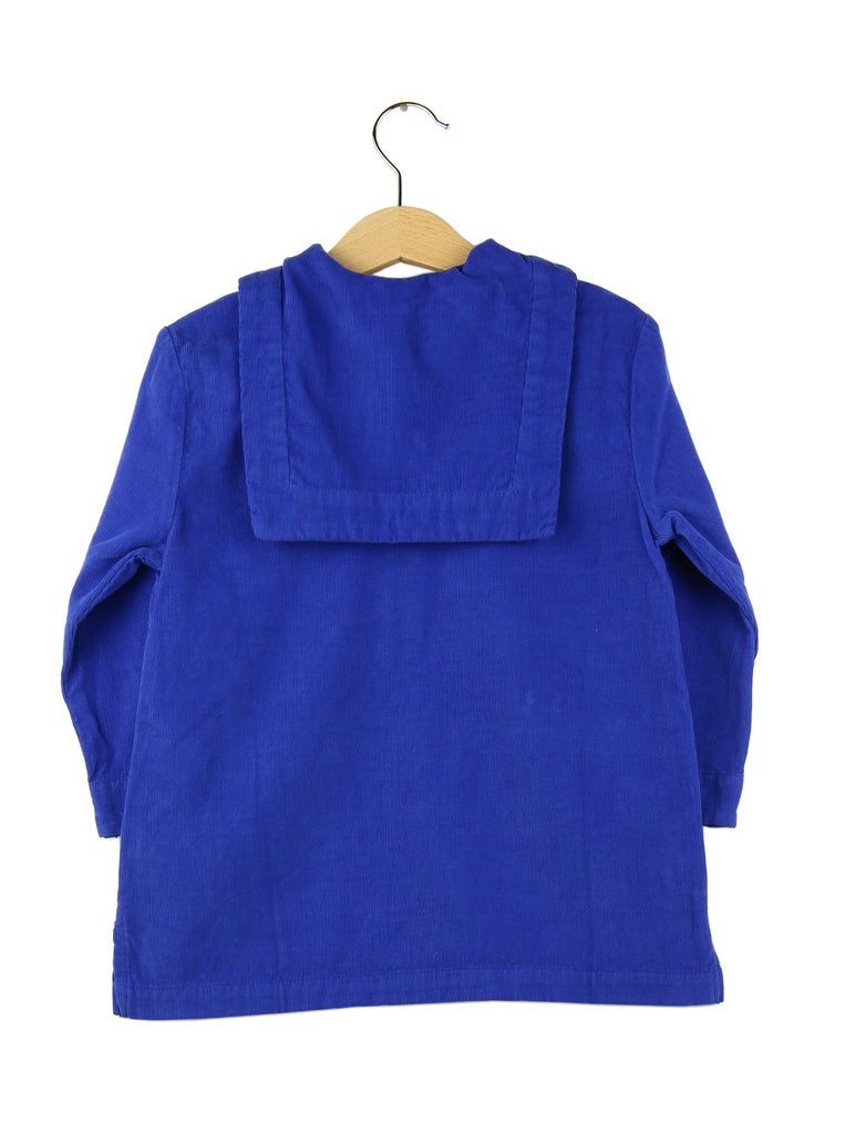 Corduroy dress | Royal Blue