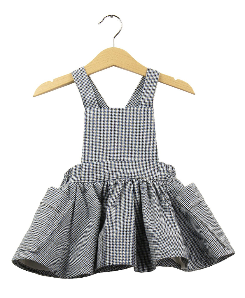 Pinafore Dress | Pied-Poule