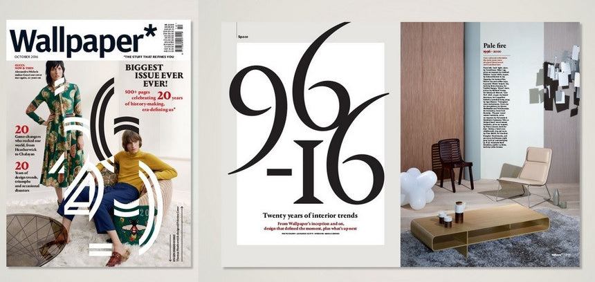 WARM series featured in Wallpaper's 20th Anniversary Edition